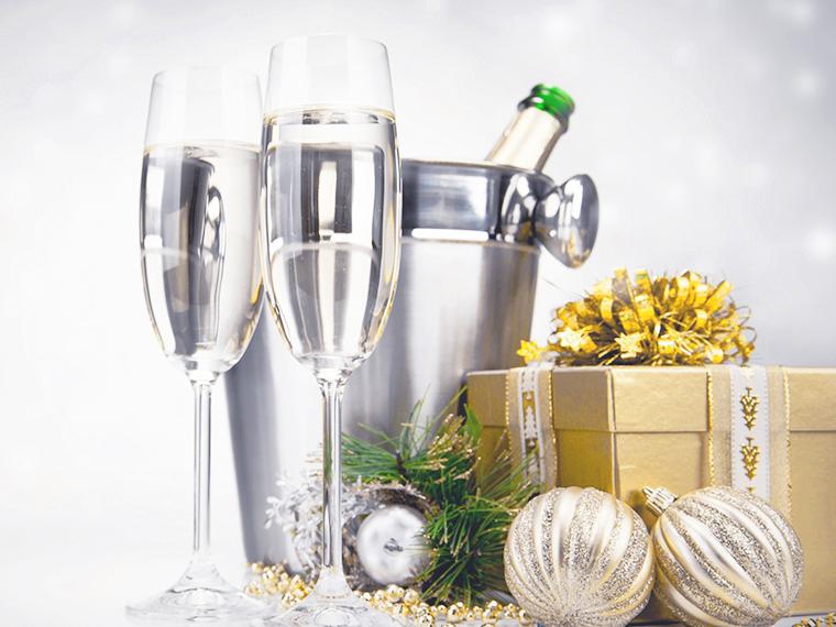 Новогоднее празднование в отеле